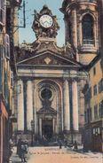 Cp , 54 , LUNÉVILLE , Église Saint-Jacques , Portail De L'Horloge - Luneville
