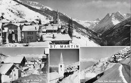 ST.MARTIN → Mehrbild-Fotokarte Anno 1973 - VS Wallis