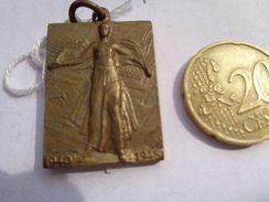 Réf: 98-16-250                  Médaille   A Ses Combattants Vuctorieux La Belgique Libérée Reconnaissante.  1940 - 1945 - Army & War