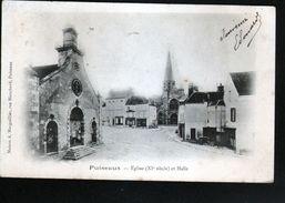 45, Puiseaux, Eglise (XIe Siècle) Et Halle - Puiseaux
