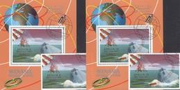 Astronauten 1969 Manama A+B 211,Blocks I+J35 O 60€ Raumschiffe Apollo 9+10 Hojas Blocs S/s Spacesphip Sheets Bf VAE - Space