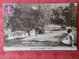 Dep  76 , Cpa  Chateau De CLERES , Le Lac   (051) - Francia