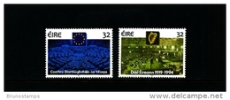 IRELAND/EIRE - 1994  PARLIAMENTARY ANNIVERSARIES  SET  MINT NH - 1949-... Repubblica D'Irlanda