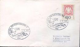 24699 Germany, Special Postmark 1971 Regensburg Astronomy  Kepler Johannes  Astronomer - Astronomie