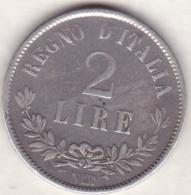 2 Lire Valore 1863 N Napoli, Vittorio Emanuele II , En Argent - 1861-1946 : Regno