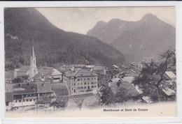 Montbovon Et Dent De Corjon. Hotel De Jaman - FR Fribourg