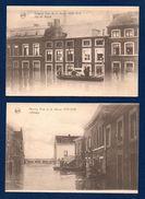 Seraing.  Lot De 5 Cartes .Crue De La Meuse Décembre 1925-Janvier 1926. Voir Descriptions - Seraing