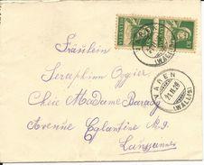 153, Buste De Tell, Obl. Varen 21.II.28 - Switzerland