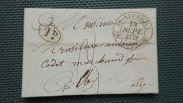 Lettre De  St Affrique Aveyron 1832 Pour Alby - 1801-1848: Précurseurs XIX