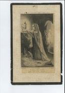 MARIE J H MELOT VEUVE J HUBERT + FERME DE REND'PEINE PONDROME ( BEAURAING ) 1873 84 ANS - Images Religieuses