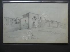 Disegno Matita San Marino Porta Ponente16 Agosto 1873 - Disegni
