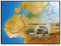"Mali Bloc YT 20 "" Raillye Paris-Dakar"" 1983 Neuf** - Mali (1959-...)"