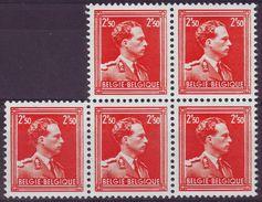 1006 ** - Cote 260,00 Euro - 1 Timbre Avec Marque De Couleur, Non Compté (JM / E 27) - 1936-1957 Col Ouvert