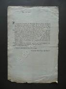 Disposizioni Udine Sanità Di Venezia Morti Vaiolo Decennio 1783 1793 Malattie - Vieux Papiers