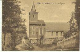 Plainevaux -- L' Eglise.   ( 2 Scans ) - Neupré