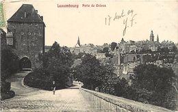 Ref 576- Luxembourg - Luxemburg - Porte Des Greves - Carte Bon Etat  - - Luxemburg - Town
