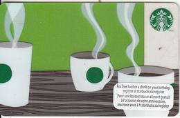 CANADA - Starbucks Card, CN : 6083, Unused - Gift Cards