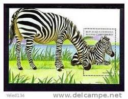 COMORES   863  MINT NEVER HINGED SOUVENIR SHEET OF ANIMALS  #  0227-4  ( - Postzegels