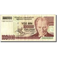 Turquie, 100,000 Lira, 1970, KM:205, 1970, TB - Turchia