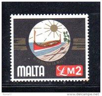 MALTA 1976  , 2 Sterline Serie Completa 519  ***  MNH - Malta