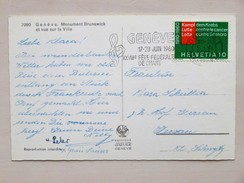 SUISSE / SCHWEIZ / SWITZERLAND // 1960, CP / AK, Mit 10Rp. Marke KAMPF Dem KREBS / LUTTE Contre Le CANCER - Medizin