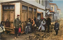 Ref 566- Transports - Motos - Moto - Doiran -motocicliste Anglais -macedoine -guerre 1914-18- Carte Bon Etat - - Macedonia