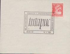 3166  Hojita Austria  Inpatuc Wien 1964, Kongress - 1961-70 Covers