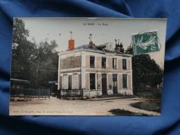 La Suze  La Gare - Colorisée - Ed. Roncière - Circulée 1908  - R155 - La Suze Sur Sarthe