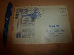 1956 Enveloppe Publicitaire  DEVISSE-COUVERCLE Et STYLO-ROUILLE - Advertising