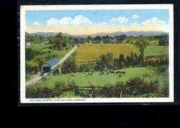 CPA       Rutland Country Club  Rutland  : Vermont   Carte écrite - Rutland