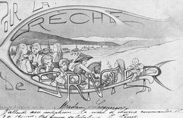 POUR LA CRECHE DE CERNIER SIGNE ARMAND BARBIER (CARTE PRECURSEUR ) - NE Neuchâtel
