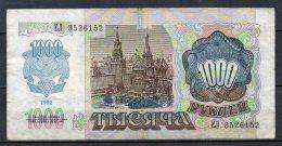 533-Transnistria Billet De 1000 Roubles 1994 EM352 - Billets