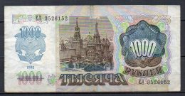533-Transnistria Billet De 1000 Roubles 1994 EM352 - Billetes
