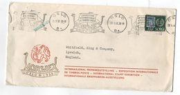 Norway NORWEX OSLO 1955 COVER PHILATELIC EXHIBITION - Philatelic Exhibitions