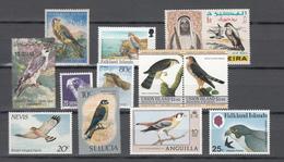 Birds,12V,small Collection,birds Of Prey,vogels,vögel,oiseaux,pajaros,uccelli,aves,MNH/MH(C264) - Oiseaux