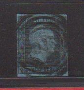Prusse / N 4 / 2 S Noir Sur Bleu - Preussen