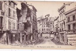 France Verdun Rue Beaurepaire 1917 - Verdun