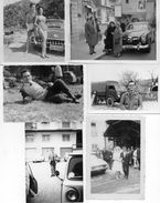 LOTTO 6 FOTOGRAFIE AUTOMOBILI- ANNI 50 - Automobili