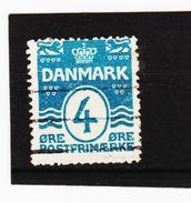 MAG1025  DÄNEMARK  1905/17  Michl  45 B Gez 14:14,5 Used / Gestempelt  ZÄHNUNG Siehe ABBILDUNG - Gebraucht