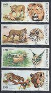°°° BURKINA FASO - Y&T N°999/1002 - 1996 °°° - Burkina Faso (1984-...)