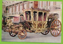Coche Do Rei D. José I  King Joseph I's Coach Carriage Carrosse Du Roi Joseph I XVIIIe S. - Taxi & Carrozzelle