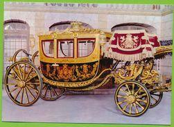 Carruagem Da Coroa The Crown Carriage Voiture De Gala Dite De La Couronne XIXe S. - Taxi & Carrozzelle