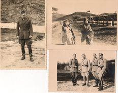 LOTTO 3 CARTOLINE- FOTOGRAFIE MILITARI - Guerra, Militari