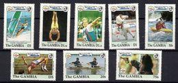 GAMBIA 1992 - OLYMPICS BARCELONA 92 - YVERT Nº 1205-1212 - MICHEL 1387-98 +- SCOTT 1266-73 - Vela