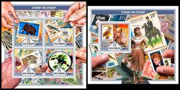 SOLOMON Isl. 2017 - Tigers, Stamps On Stamps. M/S + S/S - Roofkatten