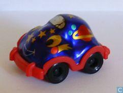 Traumreise über Den Regenbogen 1999 / Auto 1 + BPZ - Ü-Ei
