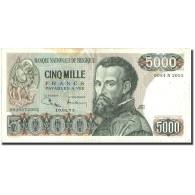 Belgique, 5000 Francs, 1973, KM:137, 1973-01-19, TB - [ 2] 1831-... : Koninkrijk België