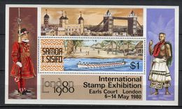 Samoa I Sisifo 1980. Yvert Block 21 ** MNH. - Samoa