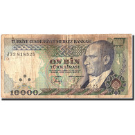 Turquie, 10,000 Lira, 1970, KM:199, 1970-10-14, B - Turchia