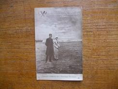 Carte Assez Rare , Le Roi Albert Et La Reine élisabeht De Belgique , Près De Furnes - Koninklijke Families